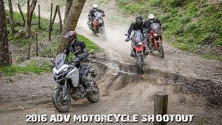 2016 ADV Motorcycle Shootout