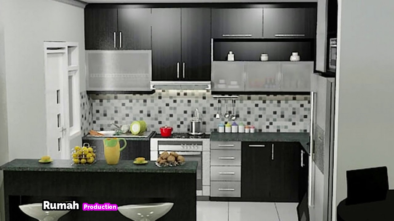 Dapur Cantik Desain Keren Minimalis 2018 Youtube