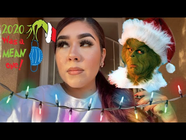 2020 WAS A MEAN ONE! BARELY PUTTING UP CHRISTMAS DECOR😭  VLOGMAS