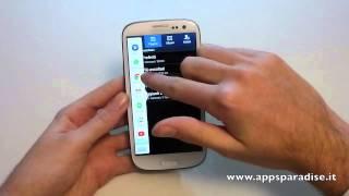 Novità Android 4.3 su Samsung Galaxy S3 ita by AppsParadise