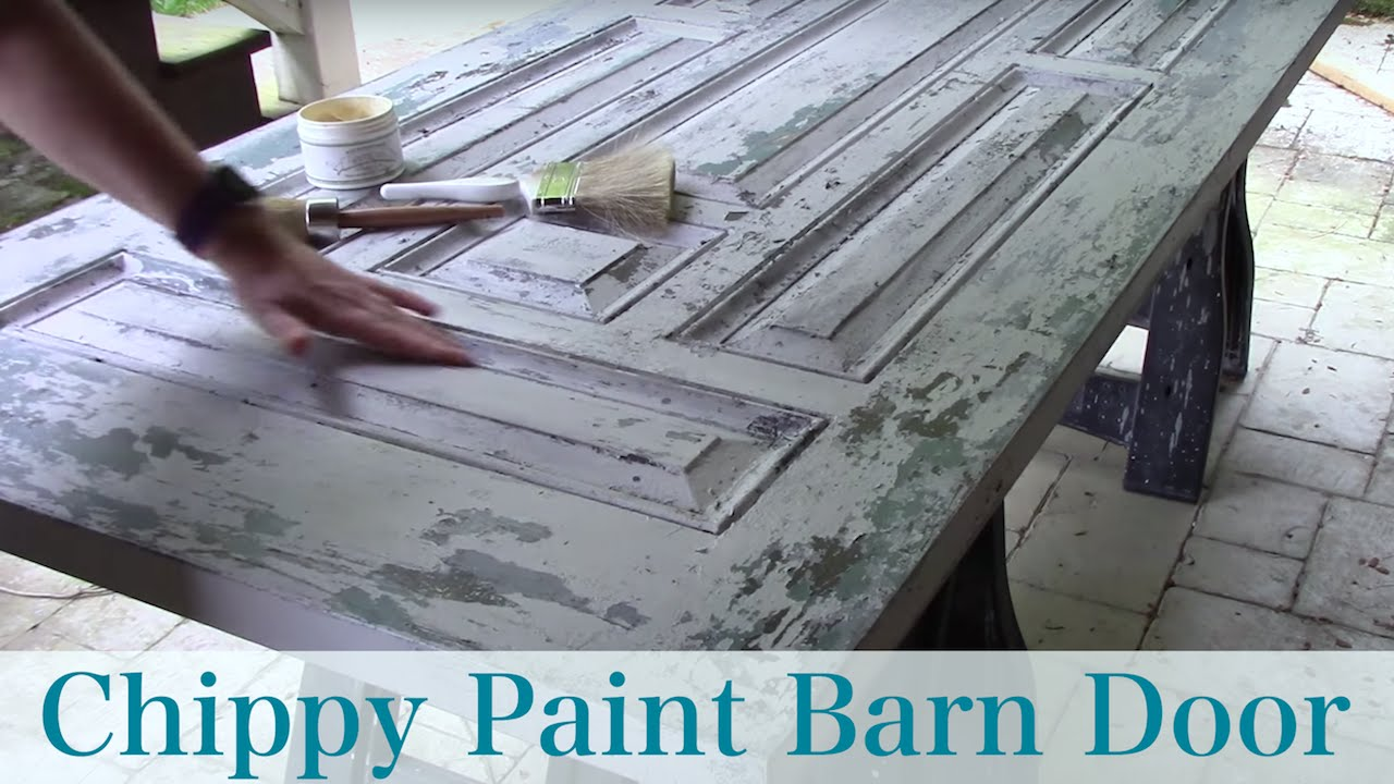 How To Get Chippy Paint Look