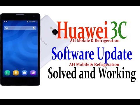 Huawei 3C H30-U10 Software Update 100% Working With Download Link