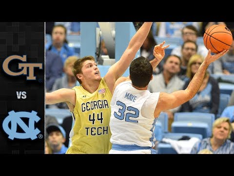 Georgia Tech vs. North Carolina Basketball Highlights (2017-18)