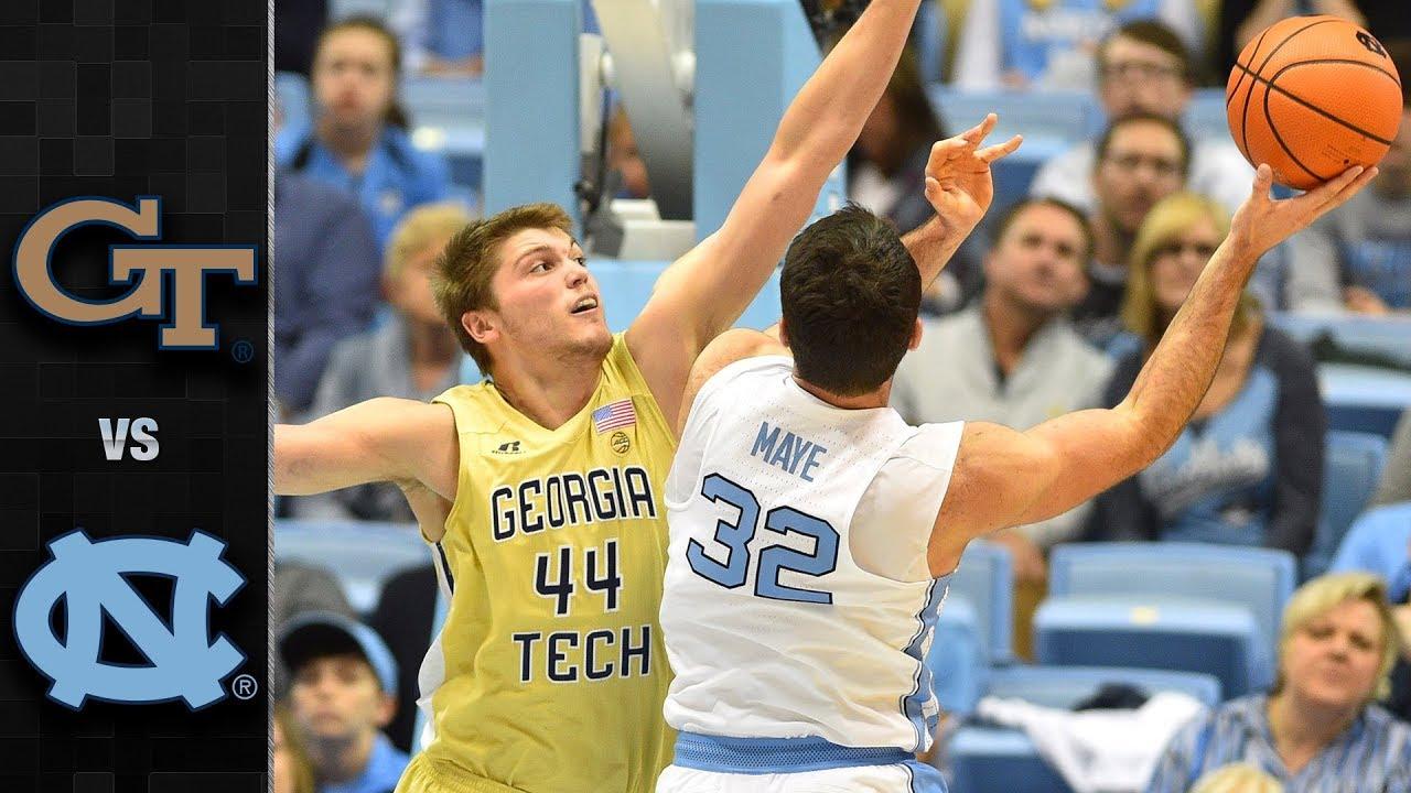 georgia-tech-vs-north-carolina-basketball-highlights-2017-18