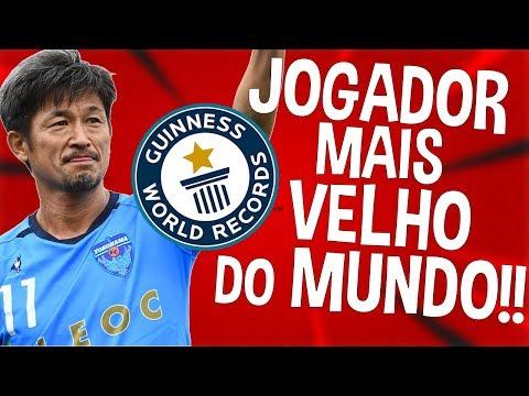 O JOGADOR MAIS VELHO DO MUNDO!! | RECORDES DO FUTEBOL