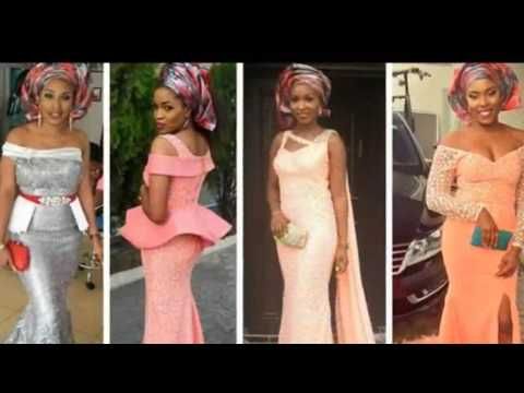 Off Shoulder EBI Collection - Ankara Gown Style Fashions