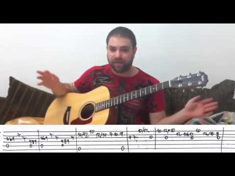 Hotel California' Guitar FINGERPICKING TUTORIAL with Tabs. - YouTube