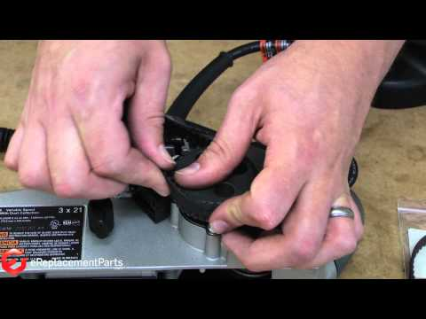 How to Replace the Drive Belt on a Porter Cable 352vs Belt Sander--A Quick Fix (Part # 848530)
