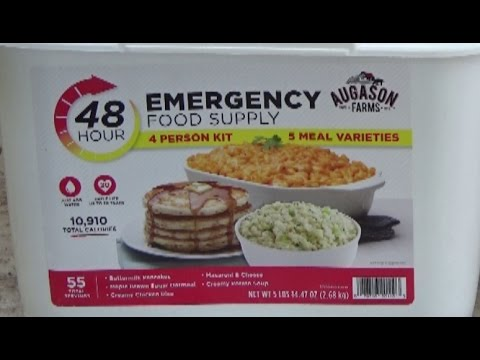 $20 Augason Farms 4 Person/48hr Supply at Walmart - Ultimate Survival Food Deal? - Prepping 101