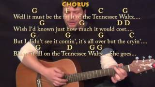 Tennessee Waltz (Traditional) Strum Guitar Cover Lesson in G with Chords/Lyrics - G C D F