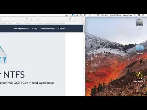 FREE Utility to Write/Delete Data on NTFS Drives in macOS High Sierra to OS X Mountain Lion