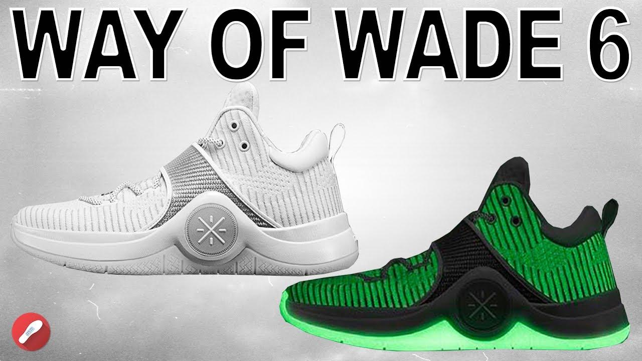 9ac9ff4b5cc Li Ning Way of Wade (WOW) 6 Initial Thoughts! - YouTube