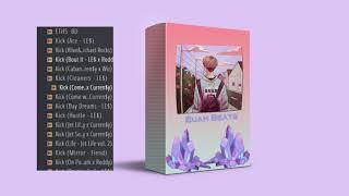 FREE Trap/Rap Drum kit 2020 | Buah Beats Drums kits Vol.1 + loops/kits/Fx