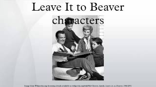 Leave It to Beaver characters