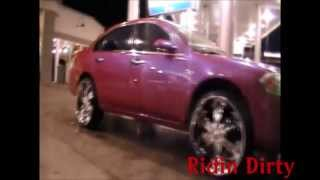 Ridin Dirty (Episode #3) 2002 Chevy Impala on 24 inch rims candy paint