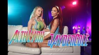 Alix Lynx & Jayden Cole fun on a colorful set - SLAIVAN #421