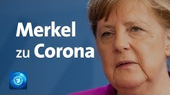 Corona-Lockerungen: Pressekonferenz von Bundeskanzlerin Merkel