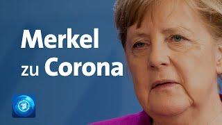 Kanzlerin merkel hat weitreichende lockerungen in der corona-krise verkündet. die erste phase sei überstanden. trotzdem müssten kontaktbeschränkungen bis...