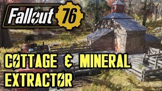 Fallout 76 - Simple Cottage with Mineral Extractor