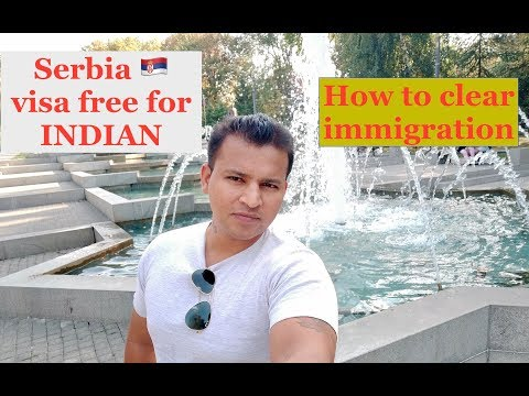 SERBIA  VISA FREE FOR INDIAN ( HINDI PUNJABI ) I