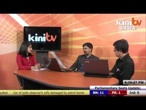KiniTV's Live Election Report - 8.30pm