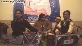 Birthday of GURU RAVIDASS JI Celebration 1st Time in Pakistan by Sanjhay Lok, 2.Singers Habib Rafiq