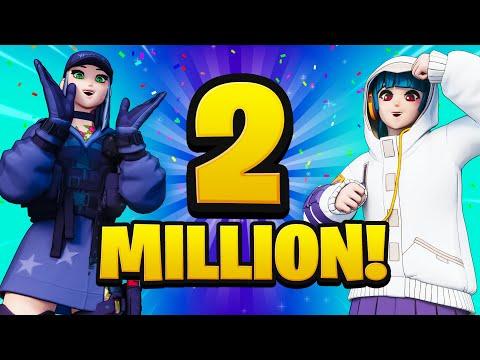 WE HIT 2,000,000 SUBSCRIBERS!