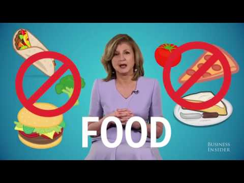 Arianna Huffington: Things you should never do before bed