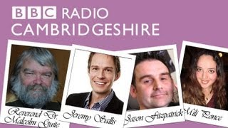 Mili Ponce with Jeremy Sallis on BBC Radio Cambridgeshire