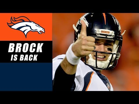 Brock Osweiler Named Broncos Starting QB
