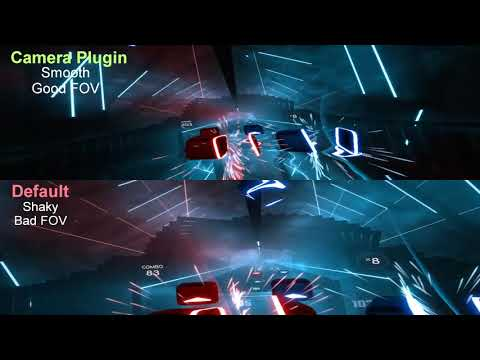 Beat Saber View Comparision (Default vs CameraPlus) Smooth and Better FOV