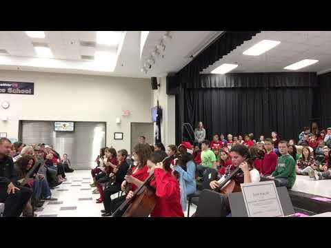 Forts Pond Elementary School 5th Grade Orchestra 2017, Mary Had a Little Lamb