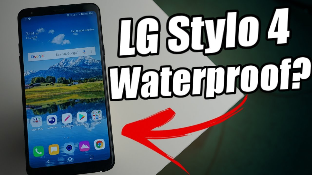 LG Stylo 4 | Is It Water-resistant ?