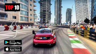 Top 10 Racing Gaṁes for Android & iOS 2021 | Realistic & High Graphics Racing Games