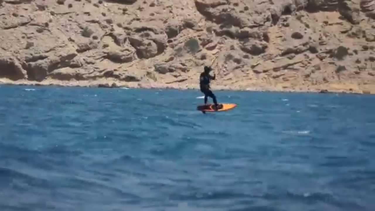 Alpinefoil at Rhodos Prasonisi 2014 Hydrofoil Kitefoil Surfboard