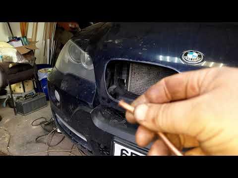 Вскрытие капота BMW X5 E70