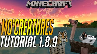 How to Install Mo' Creatures Mod - 1.8.9 Minecraft