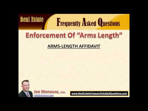 What Is An Arms Length Transaction