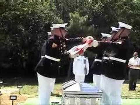 Arlington Burial - Flag Folding