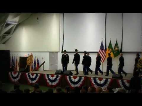 Military Police School Graduation Ceremony. Delta Co 795 MP BN. Class 21-12