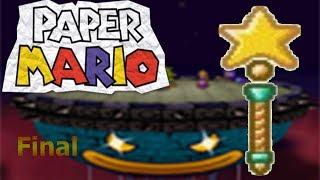 La varita estelar recuperada y un buen desenlace/Paper Mario capítulo Final