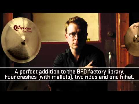 BFD Stanton Moore Cymbals expansion pack