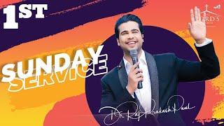 Sunday First Service Live || 21st Feb 2021 || Raj Prakash Paul || Jessy Paul