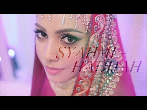 Arab Malaysian Wedding // SYAHMI+HADIJAH / The Solemnization
