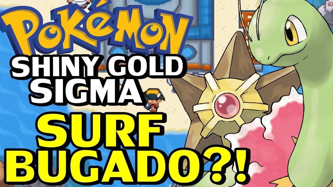 pokemon shiny gold.gba em portugues