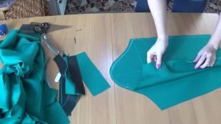 8й урок Кроим обтачки на горловину, втачиваем рукар