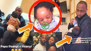 Chioma Praises Davido For Feeding Their Baby SON  Kanye West And Hushpuppi