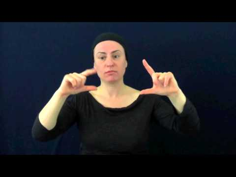 Use of space in Auslan