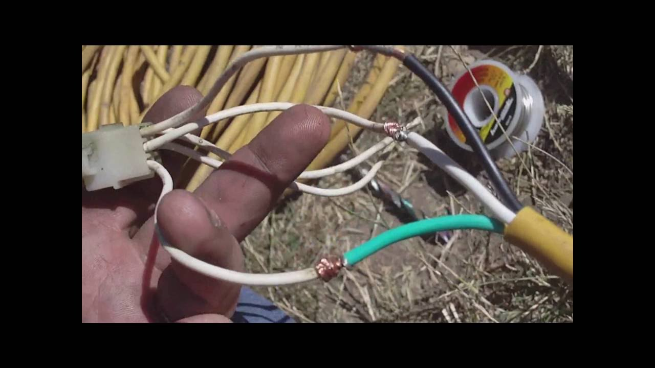 onan 4 0 generator repair part 5 remote start stop finalonan wiring harness color [ 1280 x 720 Pixel ]