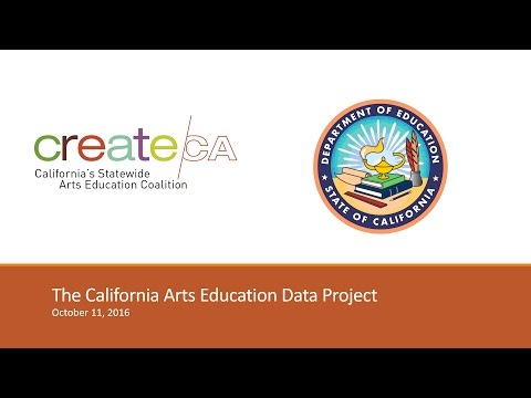 Preview of California Arts Education Data Project